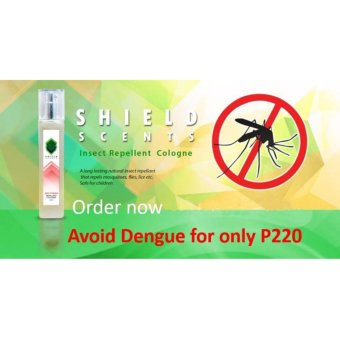 SHIELD SCENTS insects repellent cologne