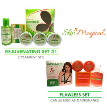 Skin Magical Rejuvenating Set #1 and Flawless Set