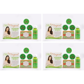 Skin Magical Rejuvenating Set #1 BUNDLE of 4 Price Philippines