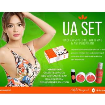 Skin Magical Underarm Peeling, Whitening, and Antiperspirant Kit Price Philippines