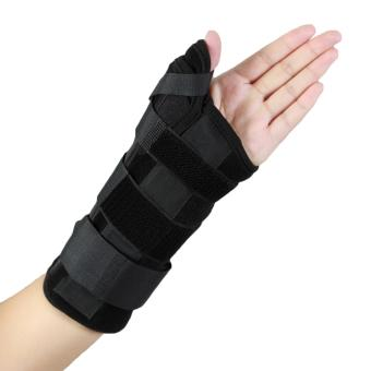 (Small Right )Wrist Thumb Support Brace Splint Finger SplintSupport Your Finger for Arthritis Tendonitis Sprained ThumbSymptoms Broken - intl