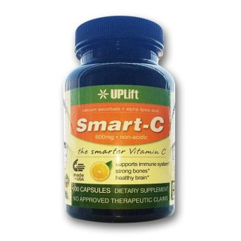 Smart-C Non-Acidic Vitamin C with Bone and Brain Support (Bottle of100) Price Philippines