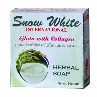 Snow White International Gluta with Collagen Herbal Soap 80 grams Price Philippines