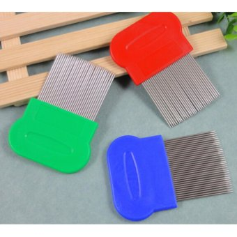 Stainless Steel Lice Combs magic suyod ( assorted Color)