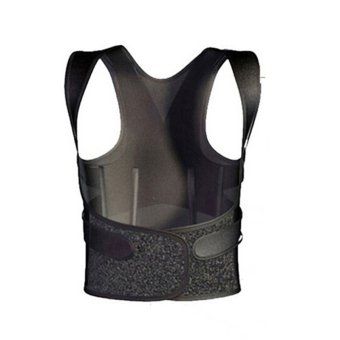 Straightener Unisex 3D Therapy Posture Corrector Back Shoulder Support Brace L