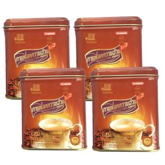 STRONG Lishou Slimming Coffee by Baian - Bundle of 4 cans (15 sachets/can)