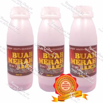 Super Anti-Oxidant Buah Merah 12in1 Powdered Juice 500ml By 3s Price Philippines