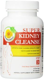 Super Kidney Cleanse Bottle of 90 Capsules Price Philippines