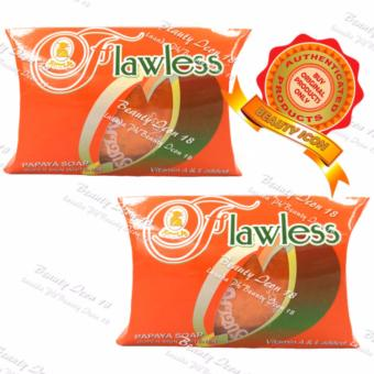 Sutla Flawless Papaya Soap Super Skin Whitener 60gms Set of 2