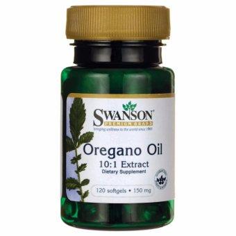 Swanson Premium Oregano Oil 10:1 Extract 150 mg, 120 Softgels