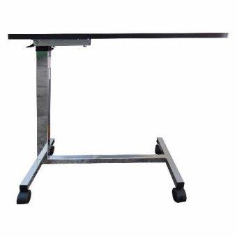 Taiwan Union Non Tilt Top Over bed Table Heavy Duty (Walnut) - 2