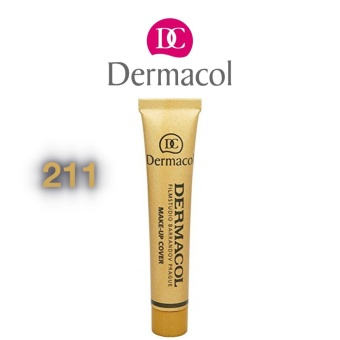 Tattoo and Pimple Marks cover with SKIN CARE and Anti-wrinkle ( 211) - DERMACOL Price Philippines