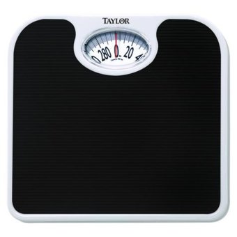 Taylor Bathroom Dial Weighing Scale With Durable Ribbed Mat Price Philippines