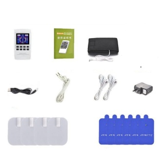 TENS UNIT/Dual channel output TENS EMS pain relief/Electricalnervemuscle stimulator/Digital therapy massager/Physiotherapy -intl - 2