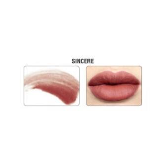 The Balm Meet Matt(e) Hughes Liquid Lipstick (Sincere) 7.4 ml (light mauve) - 2