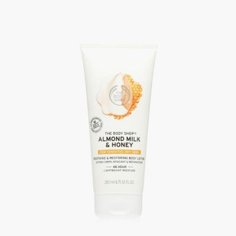The Body Shop Almond Milk & Honey Soothing & Restoring Body Lotion 200mL