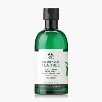 The Body Shop Tea Tree Facial Wash 400ml