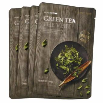 THE FACE SHOP Green Tea Face Mask (5pcs) From Korea