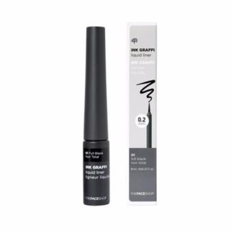 THE FACE SHOP Ink Graffi Liquid Liner 6ml(full black) Koreacosmetic