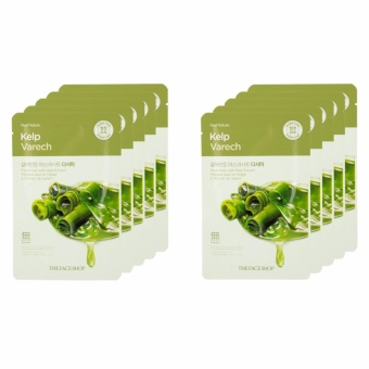 THE FACE SHOP Kelp Face Mask (5pcs) From Korea