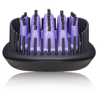 The Original Hair Straightening 3D Ceramic Brush and Dryer Straight Electric Iron Comb For All Hair Type - intl - 3