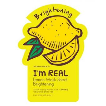 Tony Moly I'm Real Lemon Mask (Brightening) Price Philippines