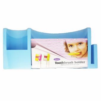 Toothbrush toothpaste Organizer White (Big) - 2