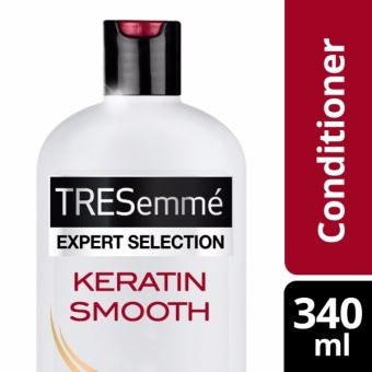 TRESEMME HAIR CONDITIONER KERATIN SMOOTH 340ML .