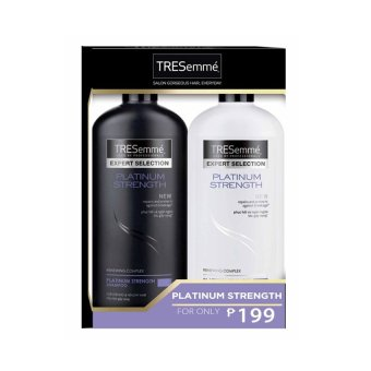 TRESemme Platinum Strength Shampoo and Conditioner Pack 170ml .