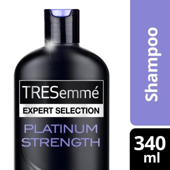 TRESEMME SHAMPOO PLATINUM STRENGTH 340ML .