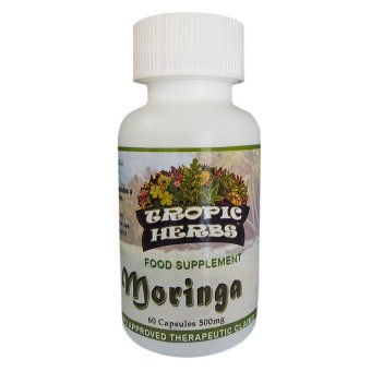 Tropic Herbs Moringa (Malunggay) 100% Pure leaf powder 60 Capsules500mg Price Philippines