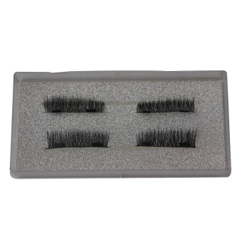 Ultra-thin 0.2mm Magnetic Eye Lashes 3D Reusable False MagnetEyelashes - intl - 3