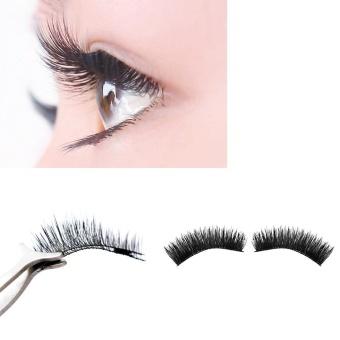 Ultra-thin 0.2mm Magnetic Eye Lashes 3D Reusable False MagnetEyelashes - intl - 2