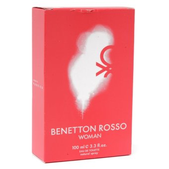 United Color of Benetton Rosso Eau de Toilette for Women 100ml - picture 2