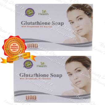 UNO 1st Health Glutathione Whitening Soap 135g set of 2s