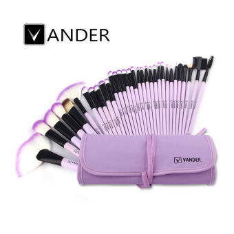 VANDER Makeup brushes Sets 32Pcs(Purple) Price Philippines