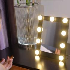 vanity desktop led light adjustable makeup mirror dimmer stage beauty touch intl