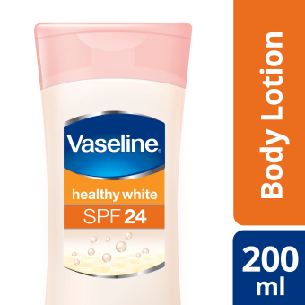 VASELINE HEALTHY WHITE LOTION SPF 24 200ML Price Philippines