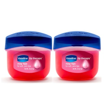 Vaseline Lip Theraphy Rosy Lips Mini Set of 2
