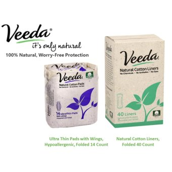 Veeda Ultra Thin Day Pad + Liner Price Philippines