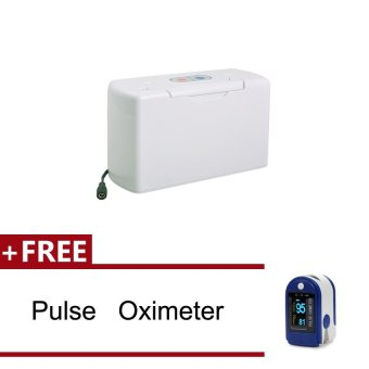 Vinmax Portable Oxygen Concentrator Physical Rich Oxygen SupplyerMini Oxygen Plant + Free Pluse Oximter Blue CE FDA - intl Price Philippines