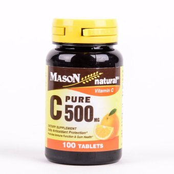 Vitamin C 500 mg Pure Ascorbic Acid 100 Tablets