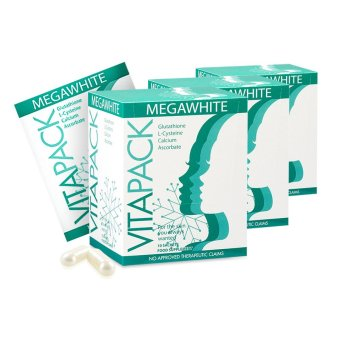 VITAPACK Megawhite Whitening Antioxidant Supplement Set of 3 Boxes (60 caps)