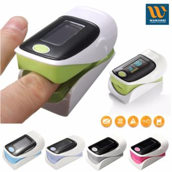 Wawawei Finger Fingertip Blood Oxygen Meter SPO2 OLED Pulse HeartRate Monitor Oximeter