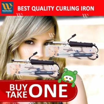 Wawawei Professional Iron Hair Curling Wand BUY 1 TAKE 1