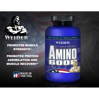 Weider Amino 6000 Supplement Capsules Bottle of 100 Price Philippines