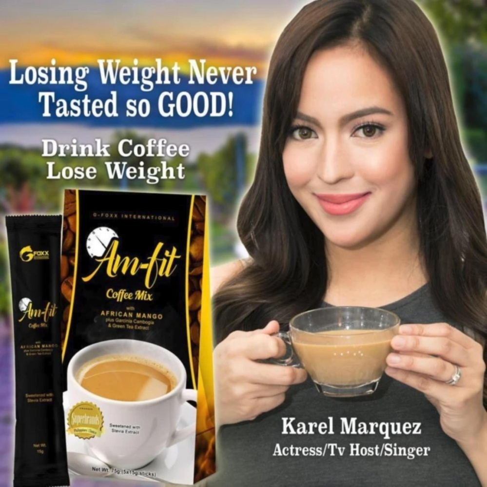 Weight Loss Am-Fit Coffee Mix w/ Garcinia Cambogia and AfricanMango