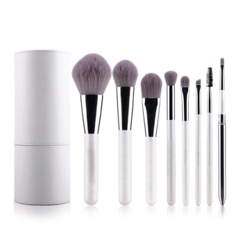 Weimei Professional Makeup Brushes Cosmetic Brush Set SyntheticKabuki Eye Face Lip Powder Foundation Make Up Brushes with WhiteHolder - 8 Pcs - intl