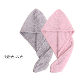 Wenjiale rub hair quick-drying Baotou towel dry hair cap