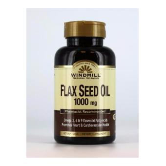 Windmill Flax Seed Oil 1000 mg 60 Softgels